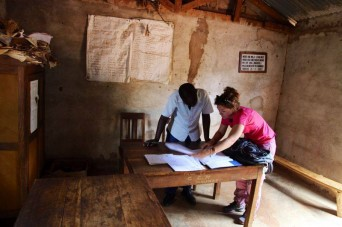 SaraTesio, servizio civile LVIA in Tanzania
